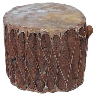 Large Native American Drum