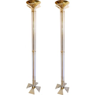 Italian Floor Lamps - A Pair