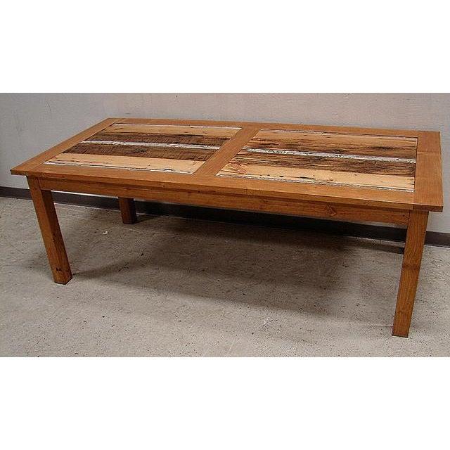 Reclaimed Barn Wood Dining Table Chairish