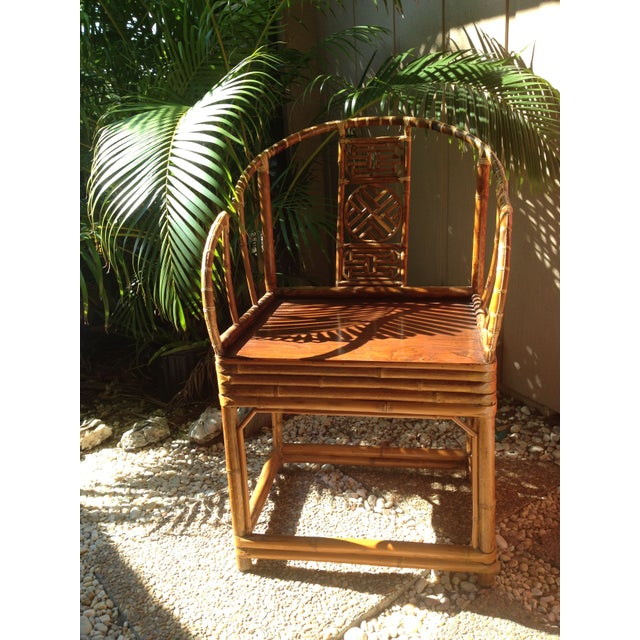 Antique Chinese Wooden Chair - Image 2 of 7