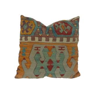 Turkish Geometric Kilim Pillow