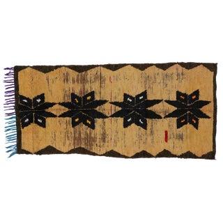 Vintage Berber Moroccan Rug, 3'6 x 7'8