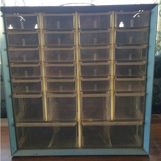 Image of Acro Mils Metal Storage Bin With Handle
