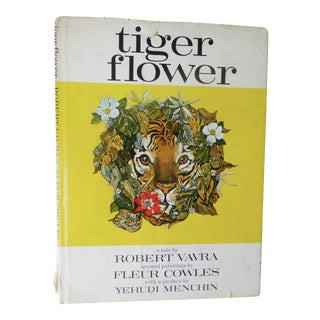 Fleur Cowles, Tiger Flower Book With Art Catalogue - A Pair