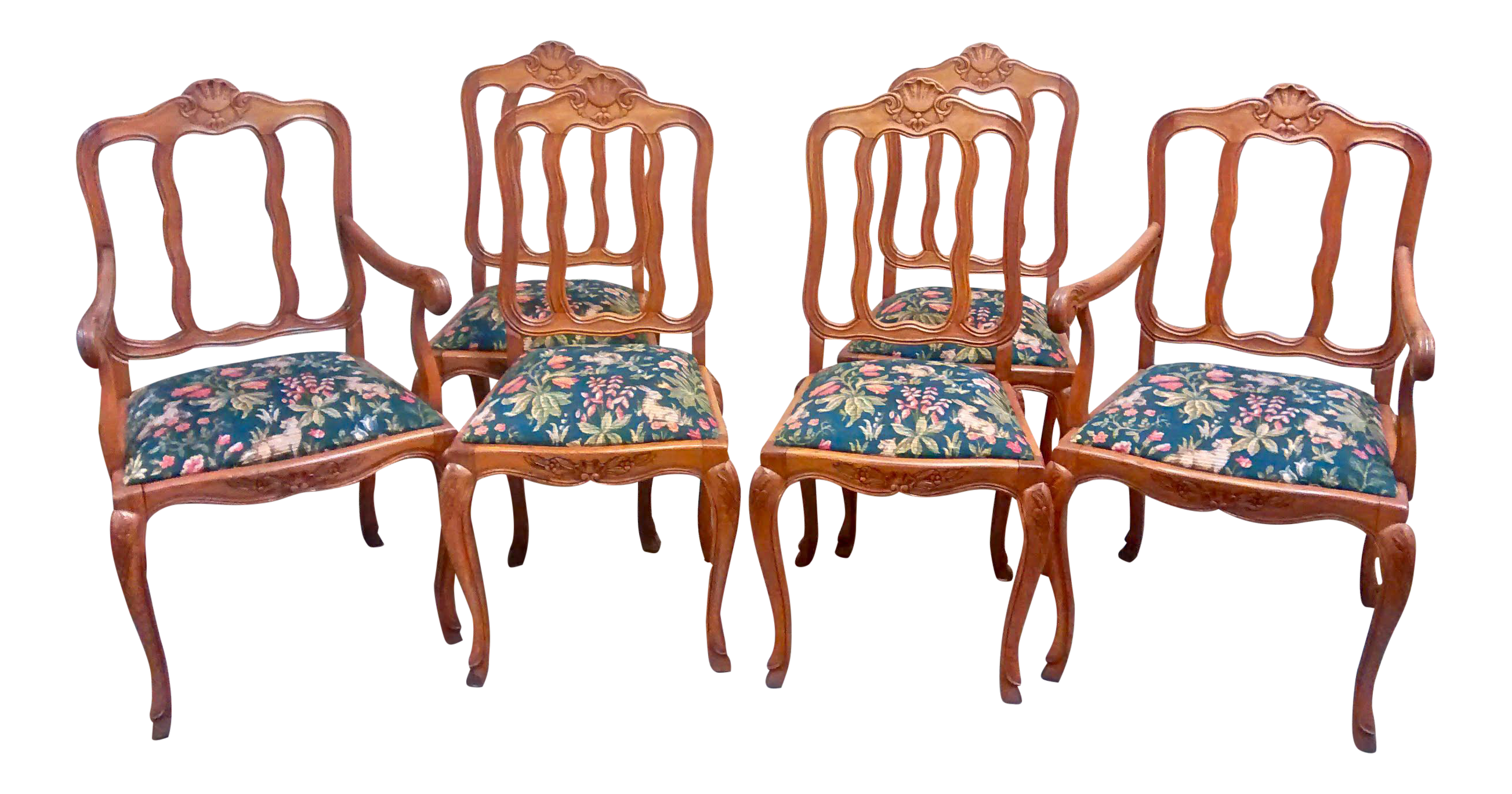 french louis xv dining chairs set of 6