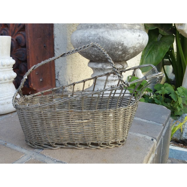 French Silver Basket Wine Pourer - Image 4 of 5