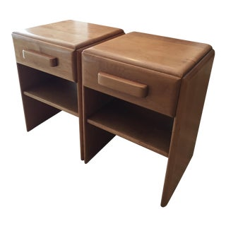 Russel Wright for Conant Ball Nightstands - A Pair