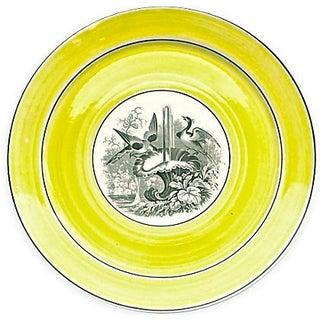 Vintage German Mottahedah Wildlife Bird Plate