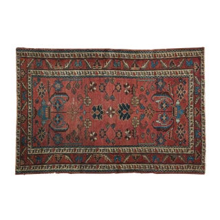 "Antique Lilihan Rug - 3'3"" X 4'11"""