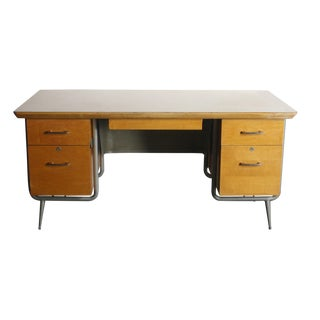 Kem Weber Heywood Wakefield Trimline Office Desk