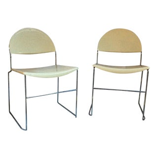 Vintage Fasem Accent Chairs - A Pair