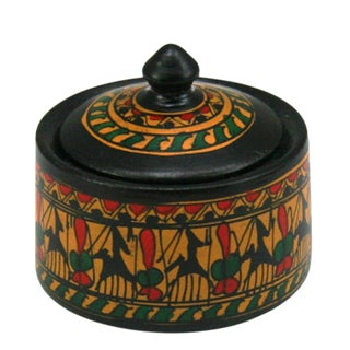 Rug and Relic Miniature Hitit Lidded Pot