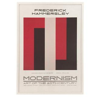 Frederick Hammersley Modernism-Print Only