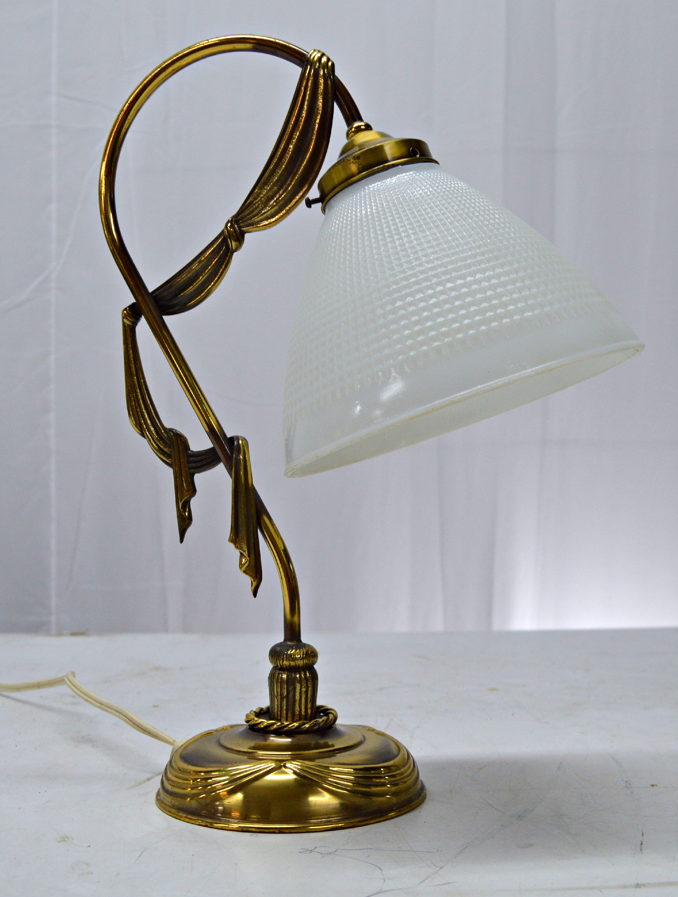 French Art Nouveau Style Desk Lamp Chairish