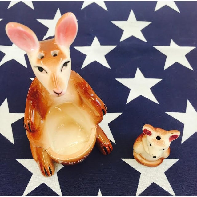 Image of Vintage Kangaroo Salt & Pepper Shakers