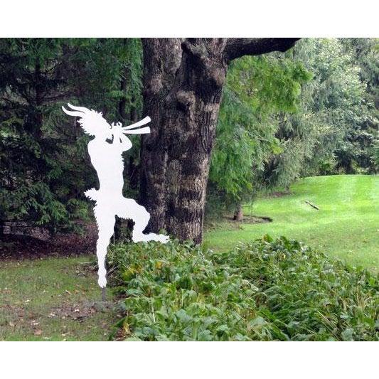 Whimsical Figure of Pan - Image 3 of 10