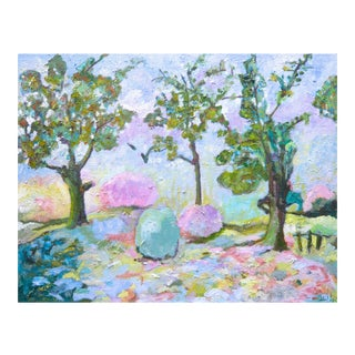"""Spring Garden"" Original Painting by Martha Holden"