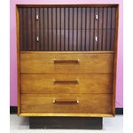Image of Mid-Century Lane Rosewood Accent Tall Chest