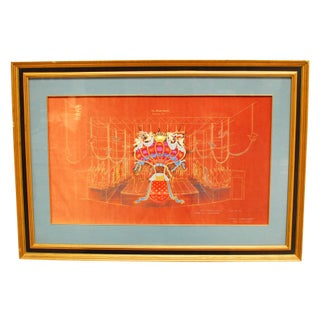 The Gondoliers Opera Signed Print