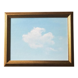 Original Acrylic Cloud Sky Painting