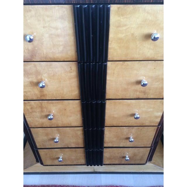 1920s Art Deco Zebra Wood Dresser - Image 3 of 4