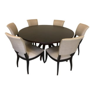 Ashcroft Dining Table & Drew Side Chairs