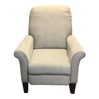 Lazy Boy Fletcher Beige Linen High Leg Recliner