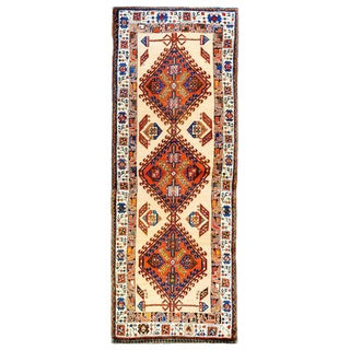 Rare and Unusual 19th Century Serab Runner