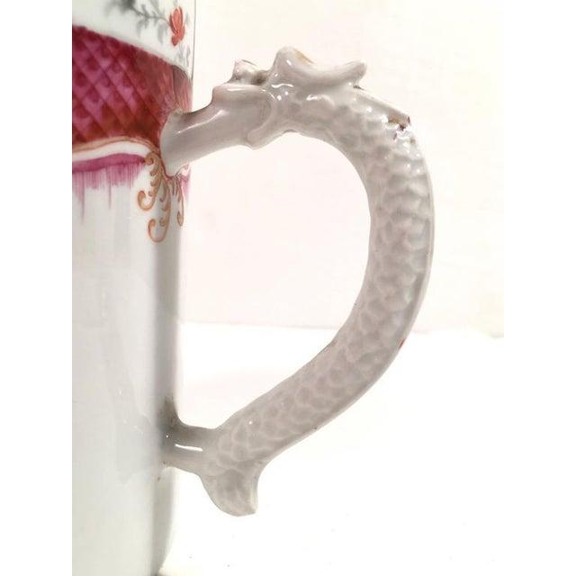 Chinese Export Famille Rose Porcelain Mug - Image 4 of 9