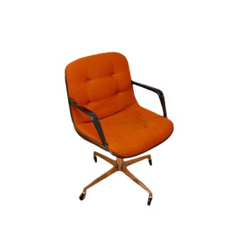 Vintage Orange Steelcase Side Chair