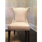 Image of Lee Industries Cream Dining Chairs - Set of 8