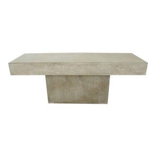 CB2 Concrete Resin Fuze Bench