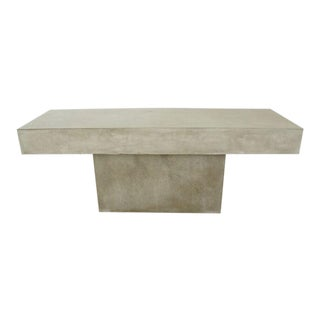 CB2 Concrete Resin Fuze Bench