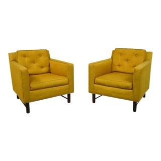 Edward Wormley Lounge Chairs for Dunbar