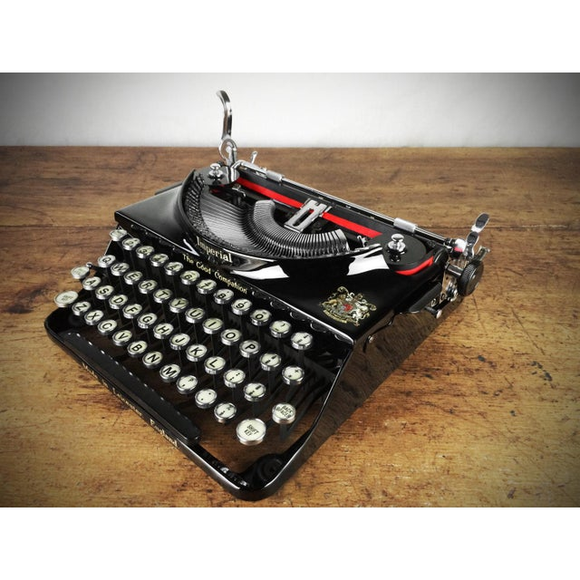 1930s Imperial 'Good Companion' Refurbished Portable Typewriter, Mint Condition - Image 2 of 7
