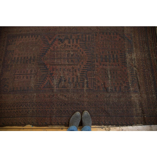 "Vintage Belouch Carpet - 4'8"" x 8'3"" - Image 5 of 9"