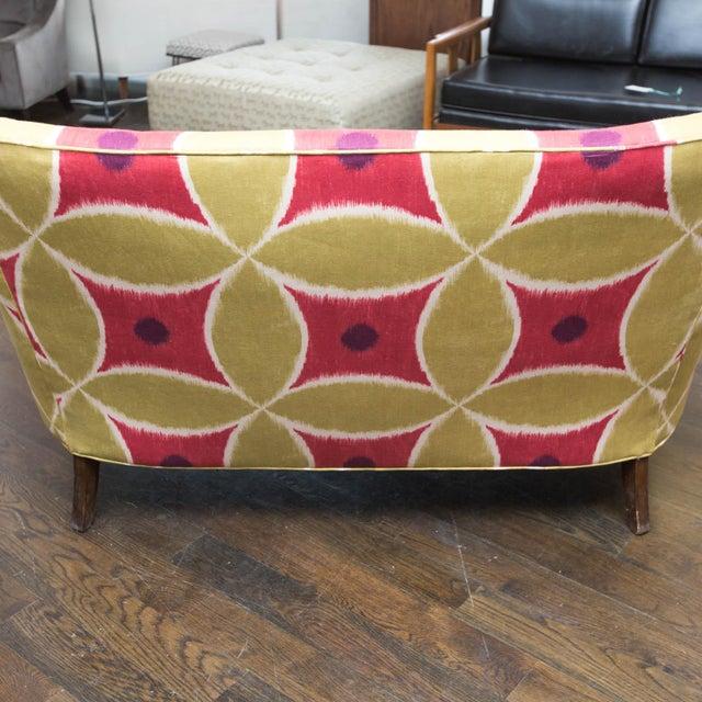 Custom Upholstered Down-Filled Loveseat - Image 8 of 9