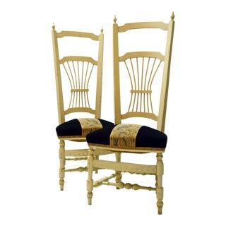 Chiavari High Back Chairs - A Pair