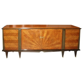 French Art Deco Palisander Sunray Sideboard