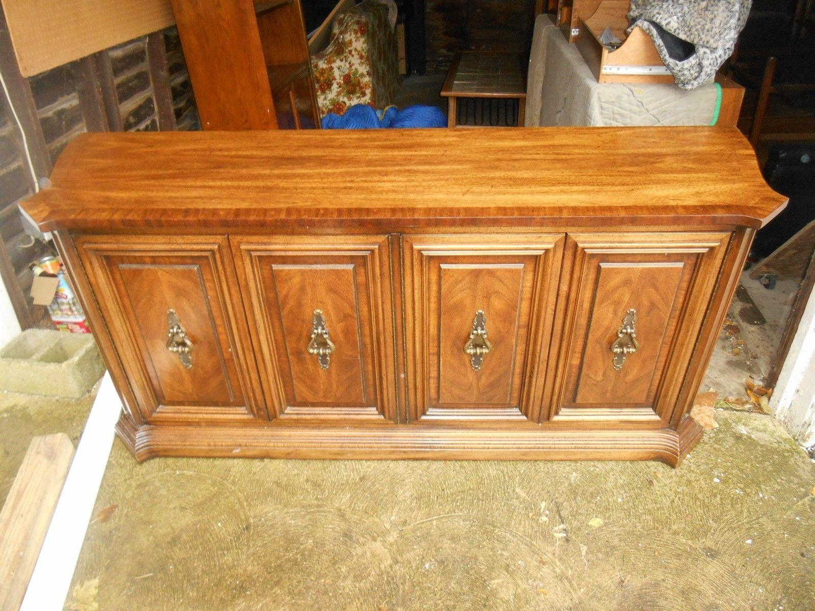 Nice Unique Furniture Makers Vintage Rosewood Credenza   Image 2 Of 6