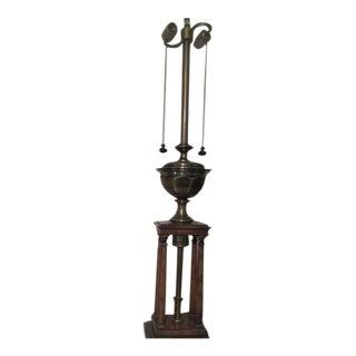 Neoclassical Stiffel Column Lamp
