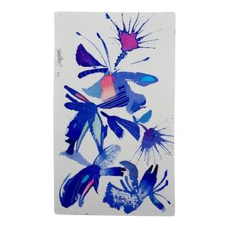 """Floral Abstract 2"" Original Watercolor"