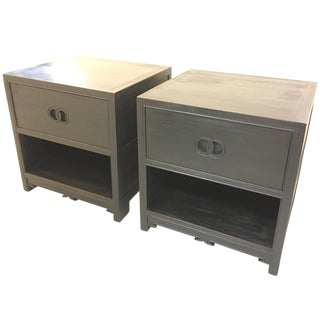 Michael Taylor for Baker Furniture Side Tables - A Pair