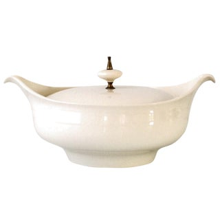 Mid-Century Modern Covered Casserole or Tureen