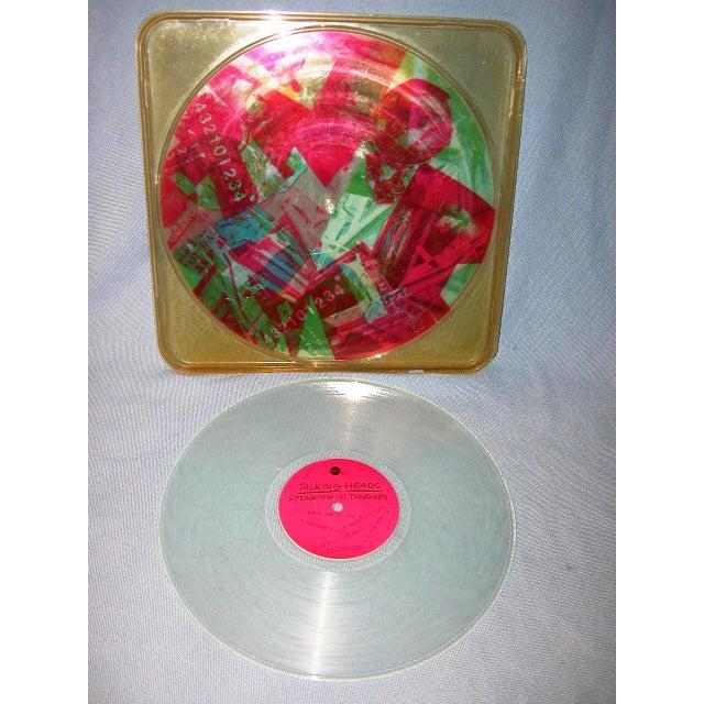 Image of Robert Rauschenberg Talking Heads Art Vinyl