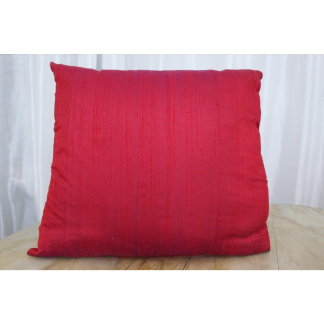 Isabelle H. Fortuny Style Hand-Painted Cherry Pillow Cover - Image 8 of 8