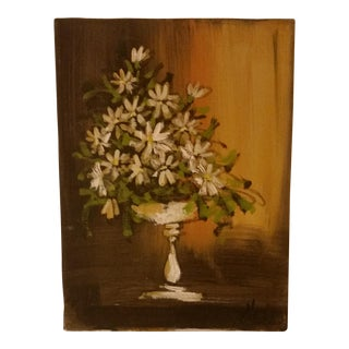 'Daisies in a Vase' Painting