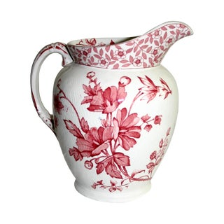 English Ridgeway Chester Water Pitcher
