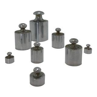Industrial Vintage Weights - Set of 8