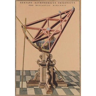 Early Astronomical Instrument Print